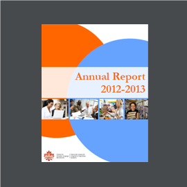 20122013 annual report � centre for canadian language