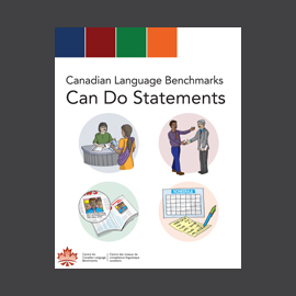 Canadian Language Benchmark Can Do Statements